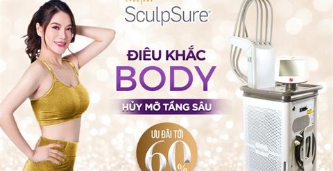 Sculpsure - Điêu khắc cơ thể - Hủy mỡ tầng sâu