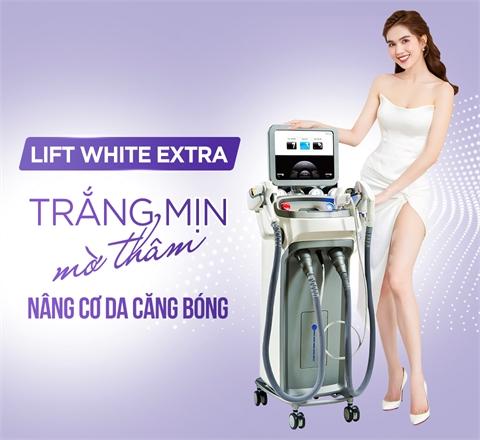 Lift White Extra - Trắng mượt căng bóng, Nâng cơ gọn mặt