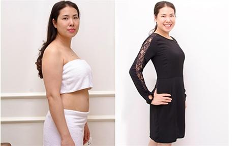Giảm 13kg trong 2 ngày,  mẹ sề sau sinh lột xác ngoạn mục