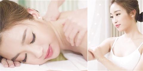Mỹ Linh Thanh Tú xuất hiện trong livestream tắm trắng