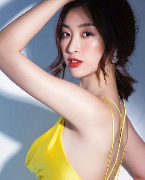 """Hoa hậu Đỗ Mỹ Linh: """"Linh không giấu chuyện mình tắm trắng"""""""