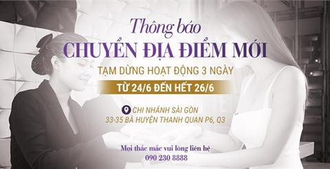 THÔNG BÁO: Lavender By Chang dời sang địa điểm mới từ ngày 27/06/2020