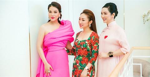 Trương Ngọc Ánh, Giáng My cùng dàn sao Vbiz rần rần tham dự sự kiện khai trương của Lavender By Chang