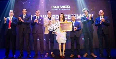 Lavender By Chang nhận giải thưởng danh giá TOP 1 thẩm mỹ công nghệ cao