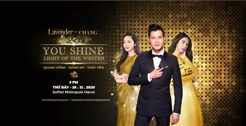 Chờ đón sự kiện hot nhất 2020: Dạ tiệc ánh sáng You Shine - Light Of The Winter