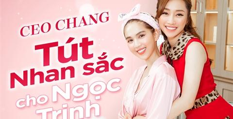Cùng CEO Lý Thuỳ Chang tút lại nhan sắc cho Ngọc Trinh