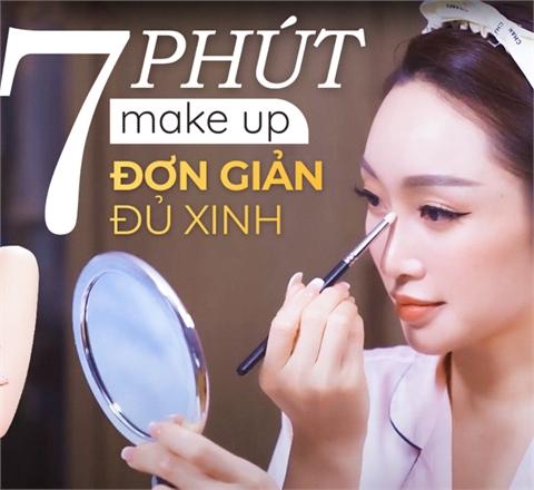 """7 phút kết thúc lớp make up """"thần kỳ"""" của CEO Lý Thùy Chang"""