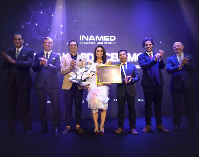 Giải thưởng top 1 thẩm mỹ công nghệ cao cùng loạt danh hiệu được trao bởi các tập đoàn làm đẹp hàng đầu thế giới